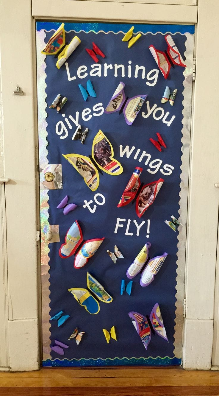 50 Awesome Classroom Doors For Back