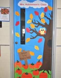 autumn back to school theme also awesome classroom doors for rh weareteachers
