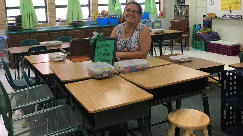 diy classroom chair covers high back rocking how i made my own standing desks for
