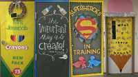 Classroom Door Decoration Ideas Back To School  Oh Decor ...