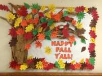 25 Fall Bulletin Boards and Door Decorations for Your ...