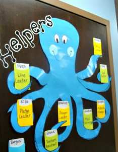 happy helper octopus also flexible fun and free classroom job chart ideas rh weareteachers
