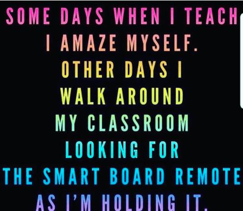 Some days when I teach I amaze myself! #teachertruths#teachertruths