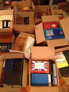 bible recycle packed up