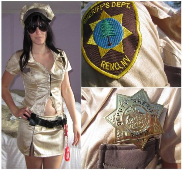 Deputy Johnson Reno 911 Costume