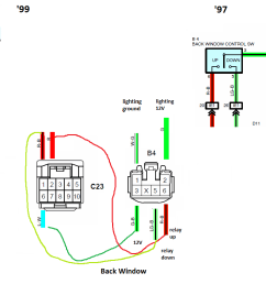 how to wiring a 99 bezel into a 97 a comprehensive tutorial rh toyota 4runner org jb10 meter wiring diagram  [ 1143 x 736 Pixel ]