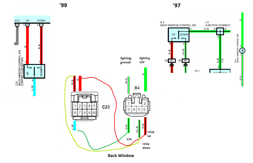 medium resolution of how to wiring a 99 bezel into a 97 a comprehensive tutorial rh toyota 4runner org jb10 meter wiring diagram
