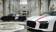 Audi_R8_V10_plus_R8_LMS_in_Al-_Hazm_Mall_2