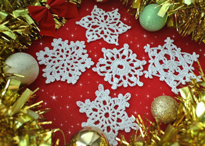 Free Thread Crochet Christmas Ornament Patterns