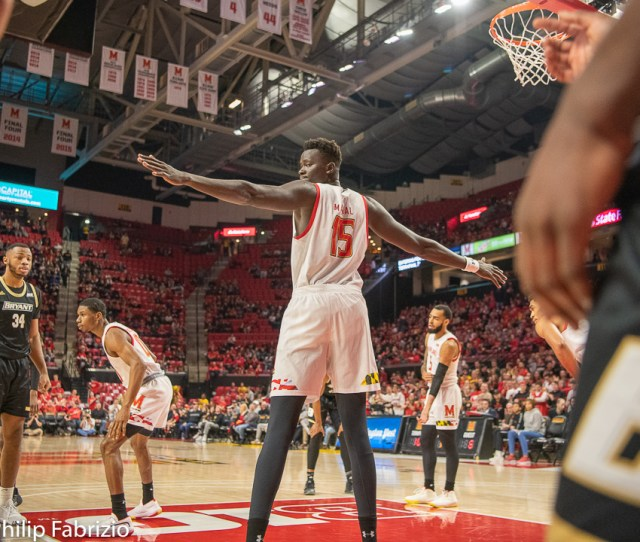Blog Maryland Basketball Debuts Chol Marial Montgomery