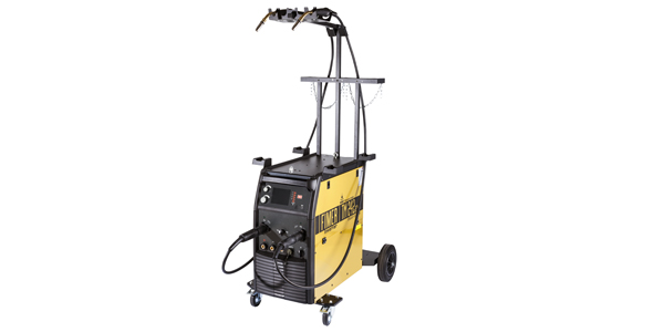 MIG-MAG Inverter Pulse Welder with Dual Torches