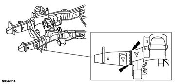 Sectioning the 2007 Ford F-150 Front Lower Frame Rail