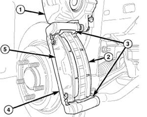 Brake Job: Chrysler 300 + 300c, Dodge Magnum/Challenger