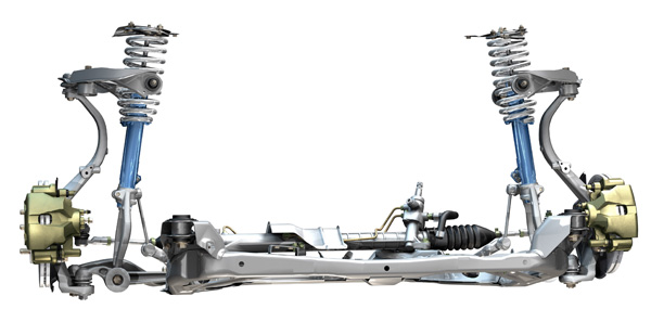 2004 Ford Taurus Front Suspension Diagram