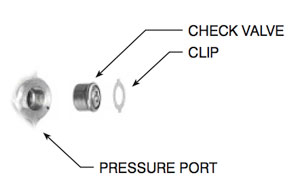ford rack and pinion pressure port