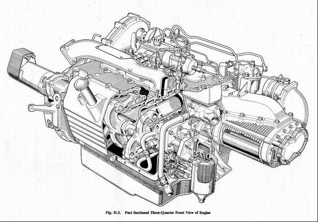 how does a turbo engine work diagram
