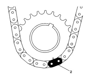 2 ecotec timing marks diagram 2005 jeep tj stereo wiring chain service procedures gm 2l l61 camshaft sprocket