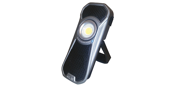 handheld led audio light