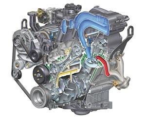 Ford 40L V6 Engine  Explorer, SOHC, Timing Chain