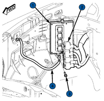 Tech Tip: 2008-2009 Dodge Dakota Powertrain Control Module