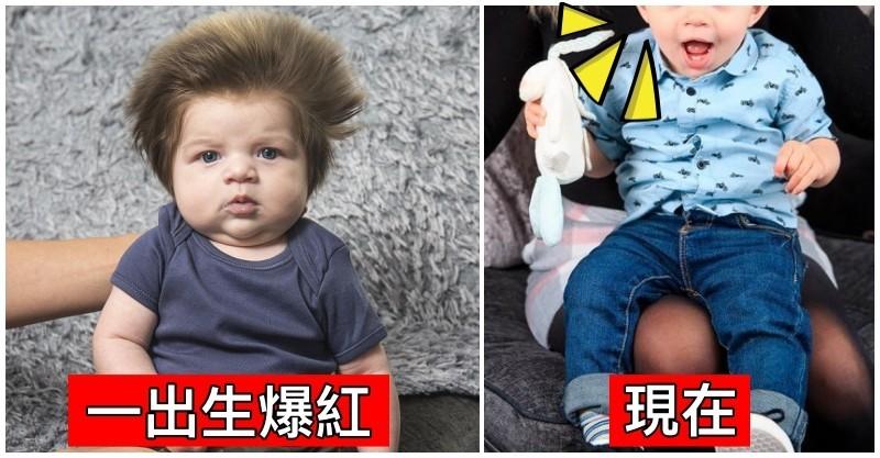 爆紅全球「獅子鬃毛寶寶」長大模樣曝光! 媽媽自首「兒子髮量爆多真相」網笑翻:快學起來 - 好文報報 S