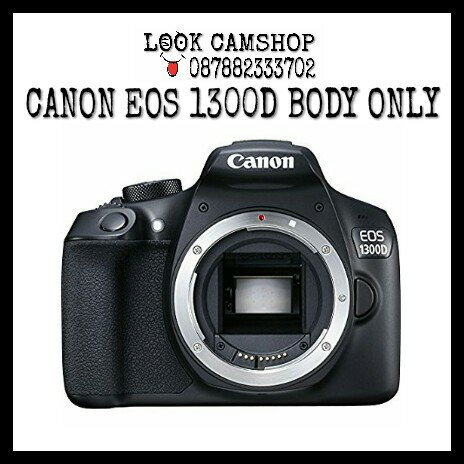 KAMERA DSLR CANON EOS 1300D 1300 D - BO BODY ONLY