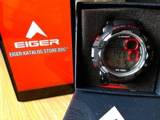 Best Seller EIGER JAM TANGAN LCD WATCH IYW0098N