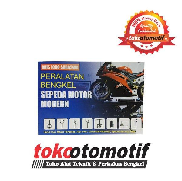 Buku Peralatan Bengkel Sepeda Motor Modern - Buku Pembahasan Alat Bengkel Motor