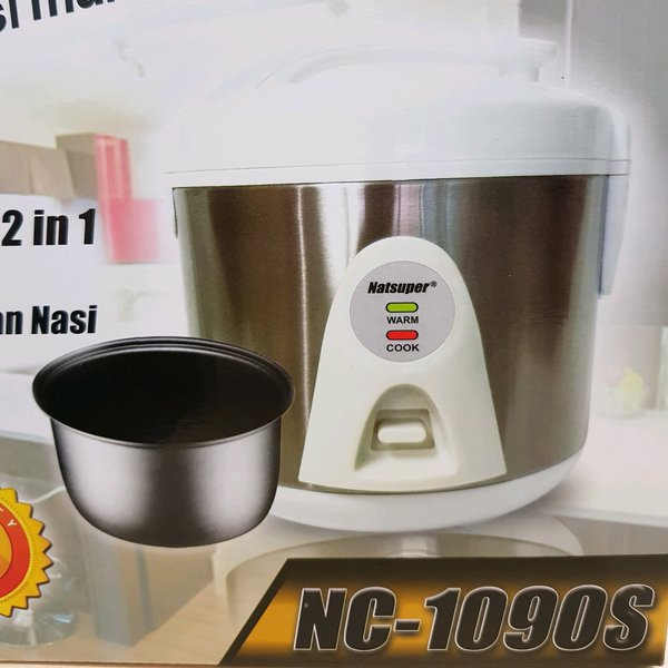 rice cooker mini natsuper 1 LITER magic com kecil