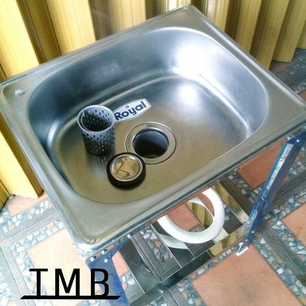 Jual Bak Cuci Piring Kaki   Kitchen Sink Stainless Steel   Royal SB 42 K Berkualitas