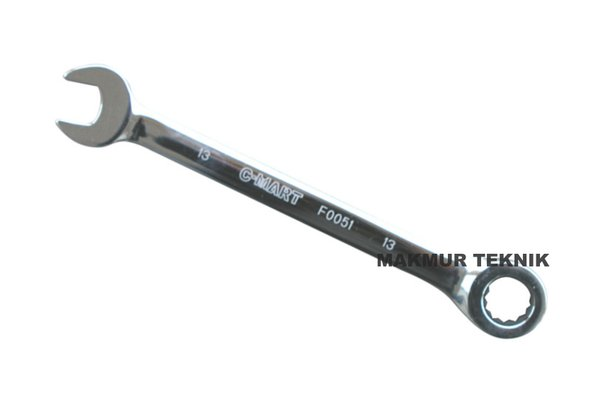 CF0051-13 Kunci ring pas ratchet 13mm C-MART