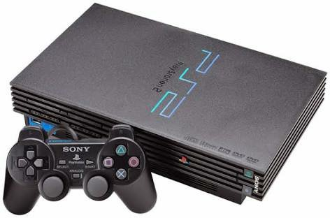 Sony PS2 pakai Flashdisk - Playstation2 - PS 2 Lengkap 2 joystick