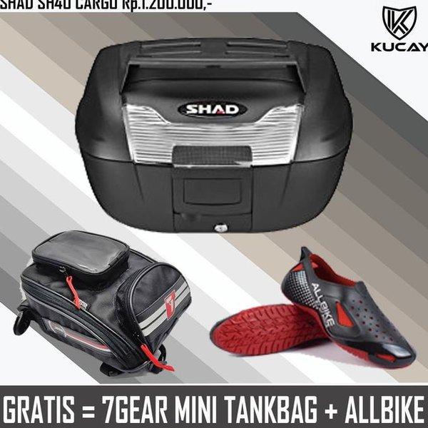 READY PAKET HEMAT BOX SHAD SH40 CARGO