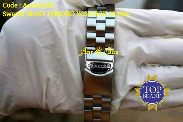 Tali Jam Tangan Swatch 19 mm Strap Stainless Swatch
