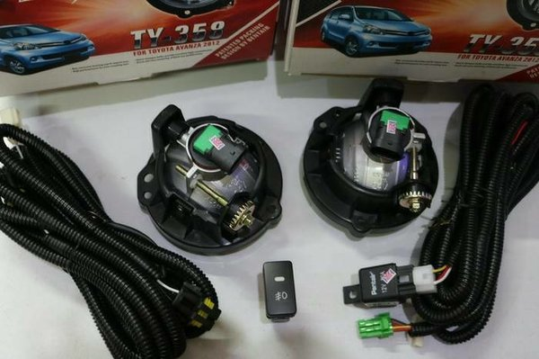 Lampu Foglamp Kabut All New Avanza Xenia Grand New