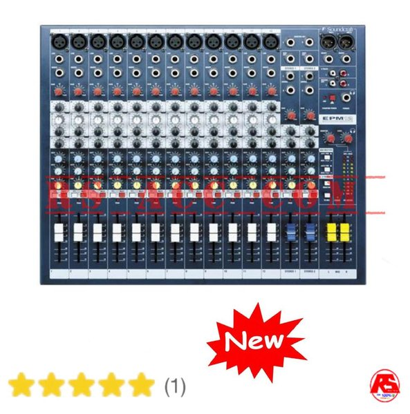 Murah Soundcraft Efx 12 Audio Mixer 12 Channel