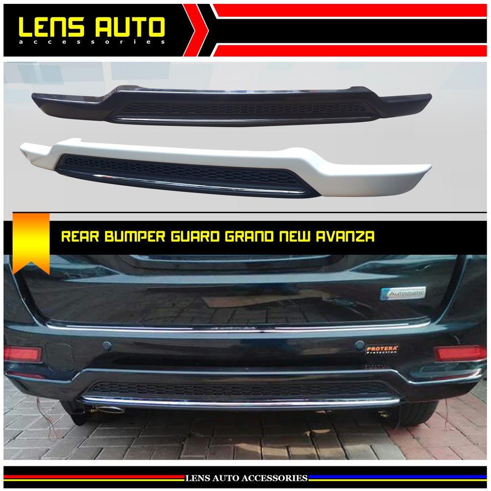 aksesoris grand new avanza 2018 veloz 1.5 vs mobilio rs jual pengaman belakang rear bumper guard