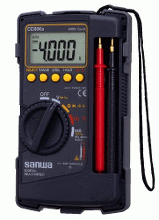 Multitester Sanwa Digital Multimeter CD800a