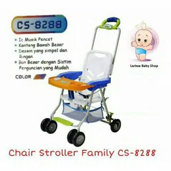 Family Chair Stroller - Kursi Makan Bayi