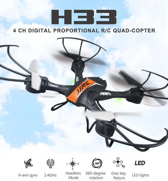 Stok DRONE  JJRC H33 Quadcopter Waterproof