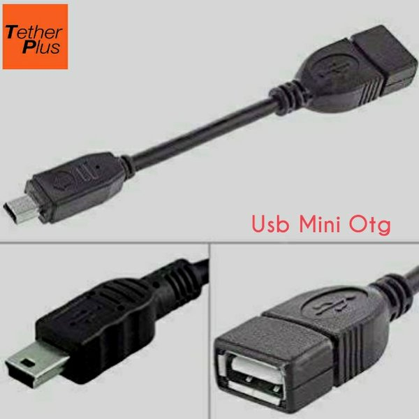 TetherPlus Usb OTG Mini B 5Pin