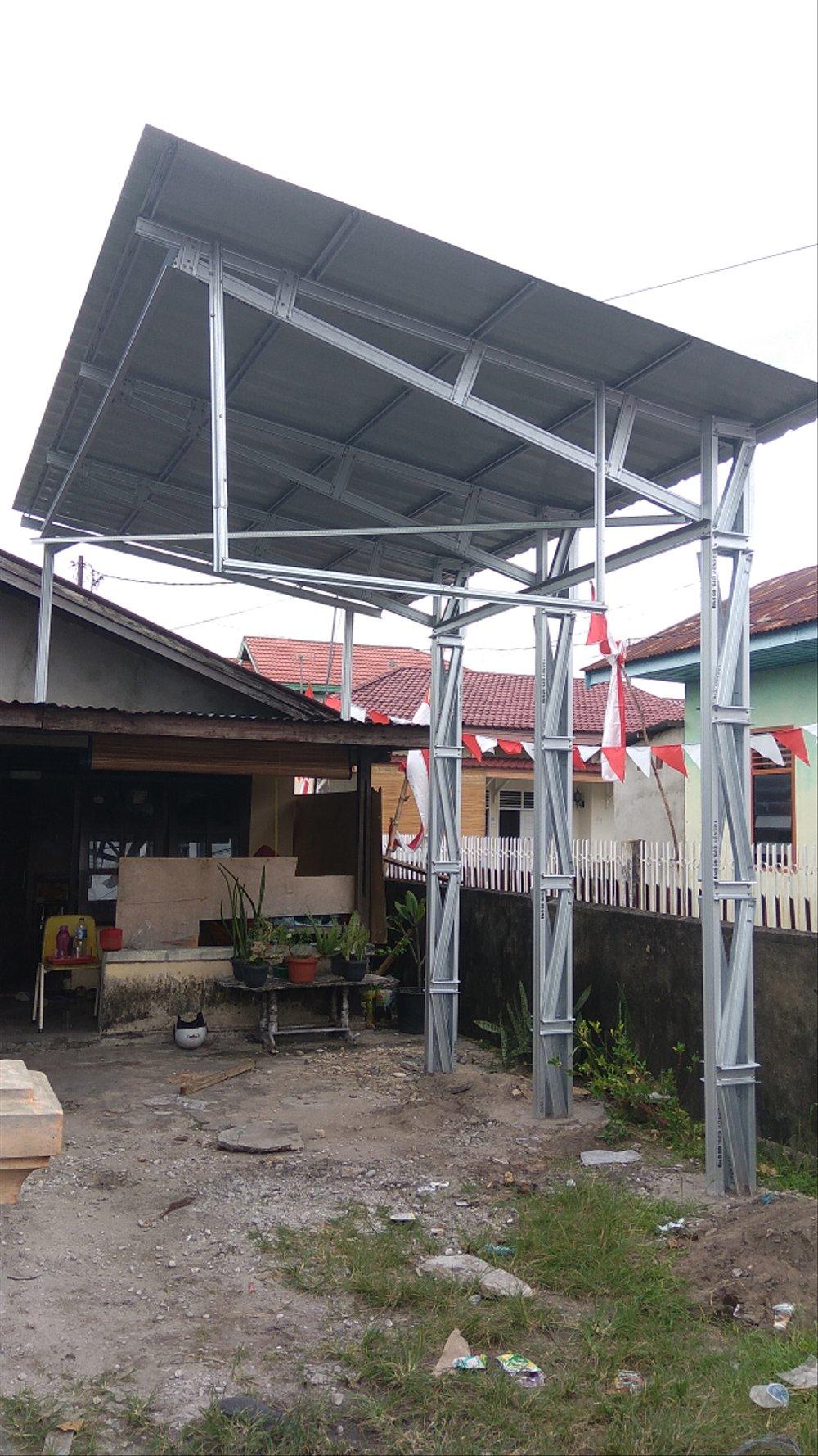 tempat jual baja ringan di pekanbaru atap canopy lapak dhome88