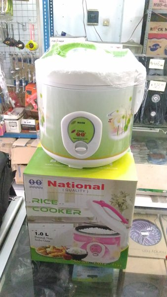 RICE COOKER MAGIC COM QQ NATIONAL 1 LITER Murah