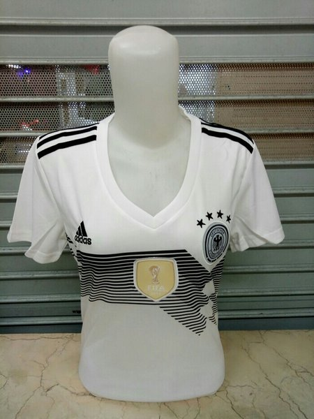 Murah JERSEY BOLA LADIES JERMAN HOME WORLD CUP PIALA DUNIA 2018 GRADE