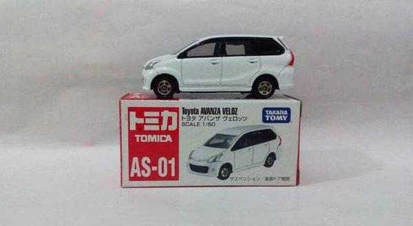 diecast grand new avanza harga veloz mobil terbaru 2019 murah hot tomica as 01 miniatur toyota jb359