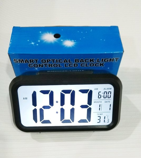 jam meja digital alarm