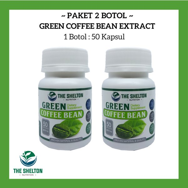 2 Botol Green Coffee Extract / Kopi Hijau Diet Pelangsing  ( Premium Quality )