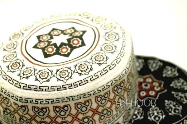 Kopiah Peci Haji Sablon Bahan Tebal Souvenir Pusat Oleh Oleh Umroh Haji