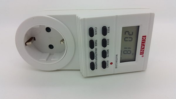 Original Digital Timer Stop Kontak Programmable