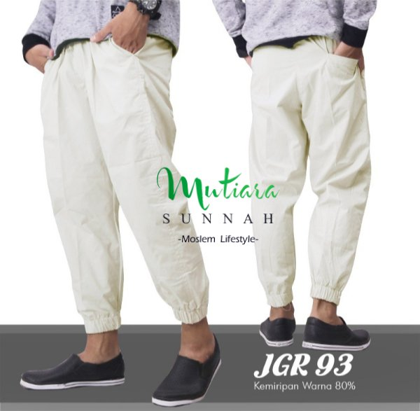 Jogger Pants - Celana Jogger - Sirwal Jogger - Celana Jogging Pria - Celana Olahraga - JGR 93